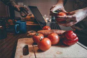 clase virtual de cocina