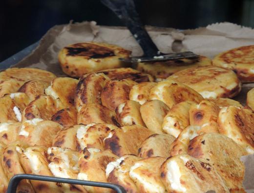 street food arepas bogota