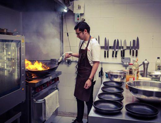 chef en cocina oculta en bogota