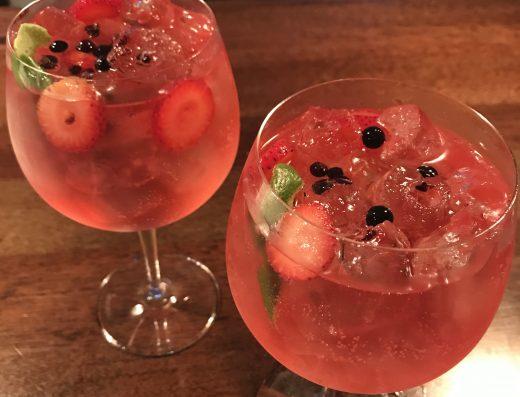 gin tonic bogotá frutos rojos